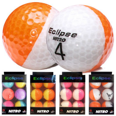 Nitro Eclipse Golfbälle 6er Pack