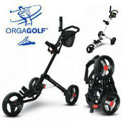 Flag 18 3-Rad Golf Trolley