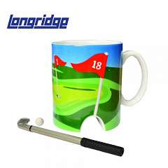 Golftasse mit Mini Putter & Ball