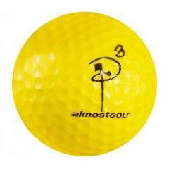Point 3 Practice Golfball
