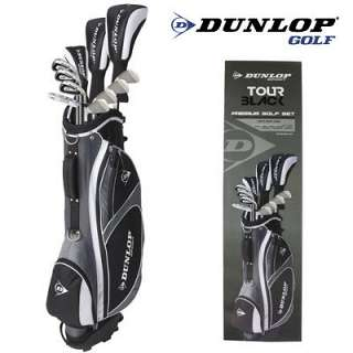 Dunlop Golf Tour Black Komplettset Herren Graphit