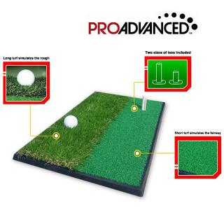 ProAdvanced 3 in 1 Golf Practice Mat
