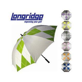 Longridge Diamond Pattern Golf Regenschirm