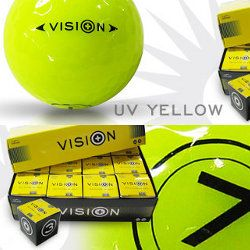 Vision UV Yellow Golfball